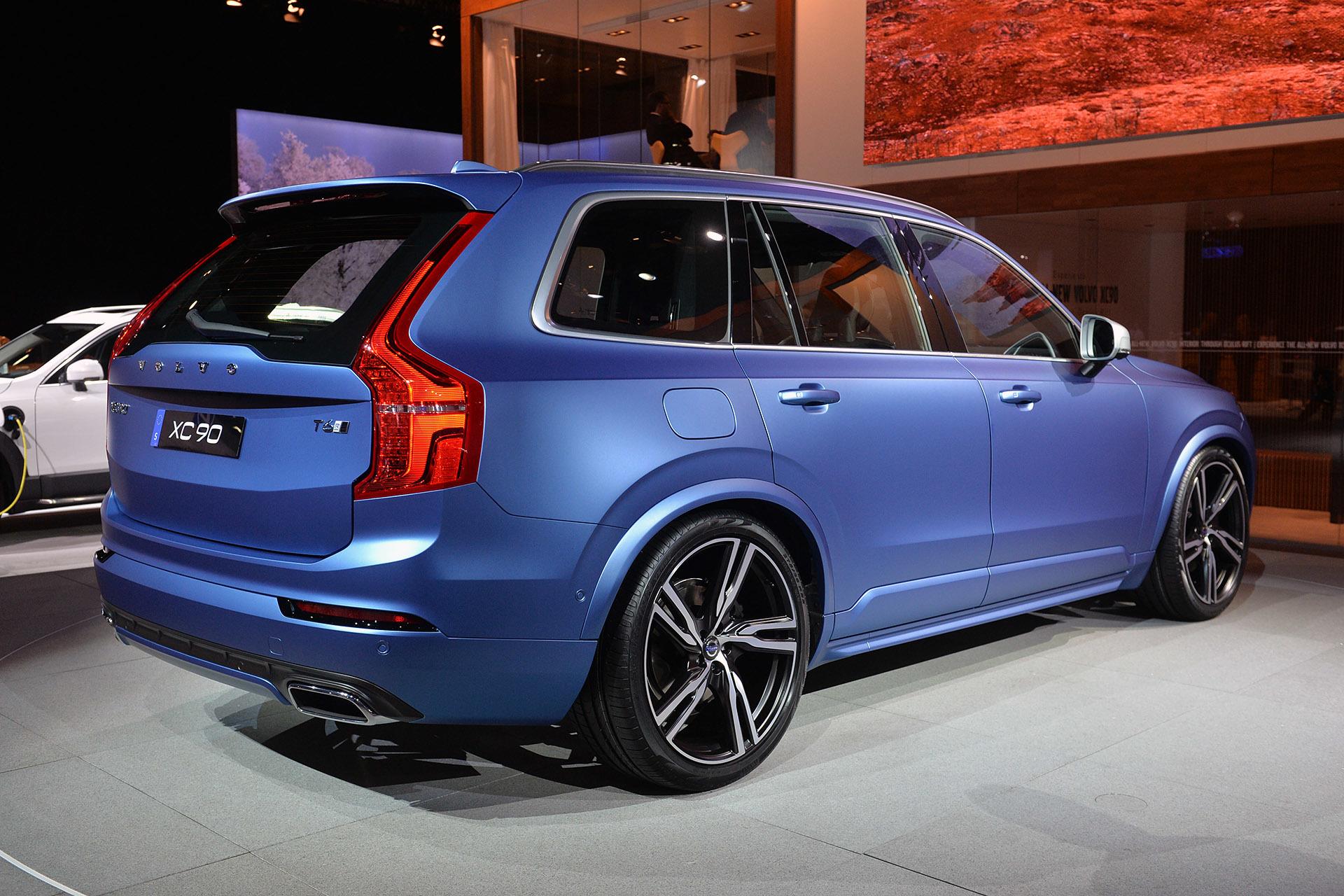 Bursting Blue Bilder Volvo Xc90 2 S90 2 V90 2